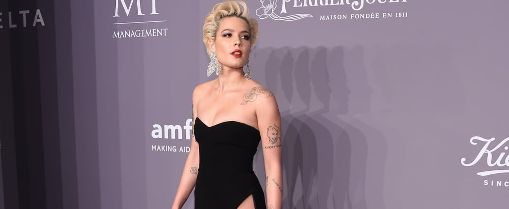 Halsey Wore the Highest Slit at One of the Biggest Fashion Parties of the Year — Would You Dare?