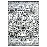 Ashby Area Rug in Grey/Ivory