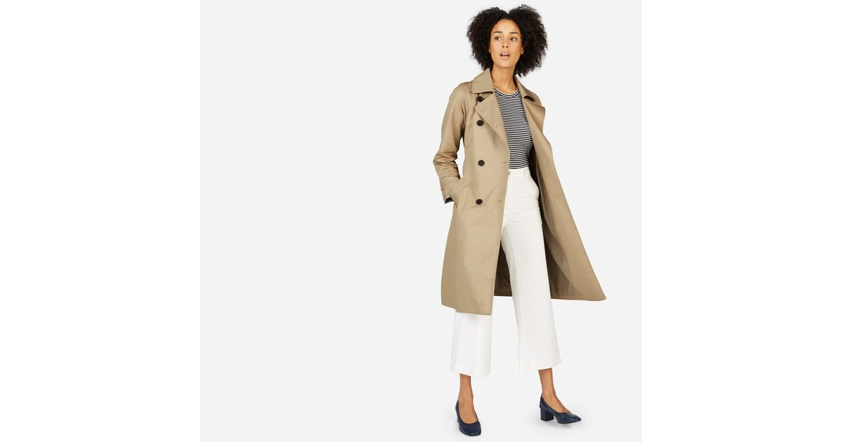 coat created drapes trench alf clay s alfani natural lyst draped macys clothing petite for in soft macy