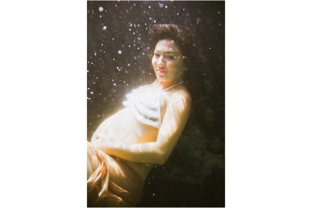 Underwater Maternity and Family Photos