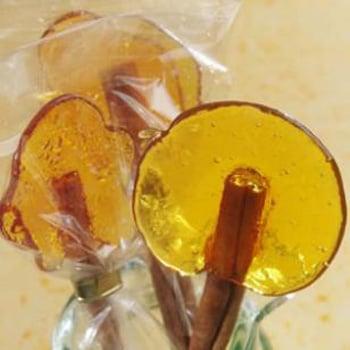 Burnt Sugar Lollipops