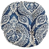 Keegan Indigo Papasan Stool Cushion