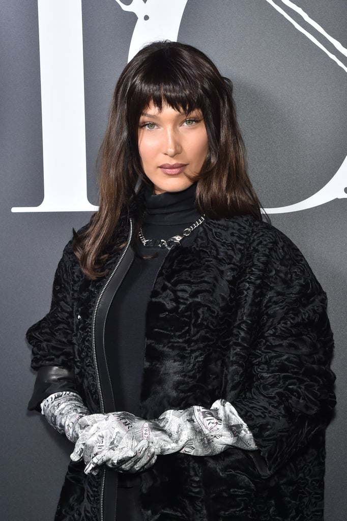 Bella Hadid's Dior Homme Look at Paris Fashion Week —Photos