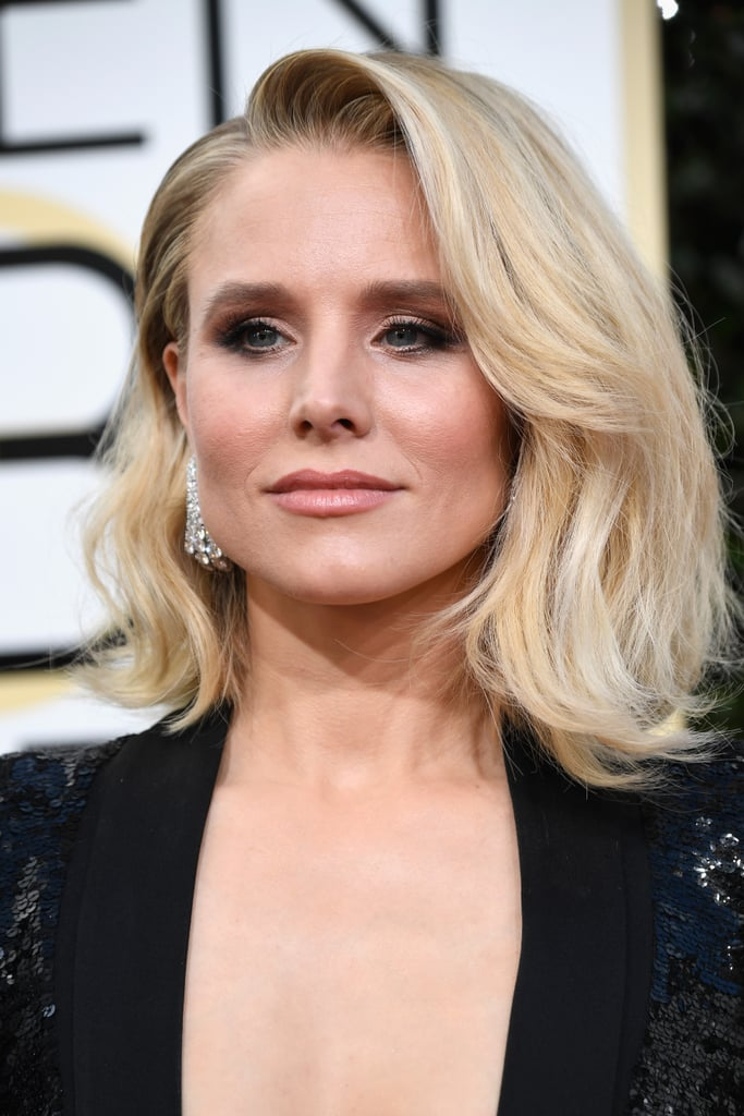 Kristen Bell Makeup Golden Globes 2017 | The Beauty Vanity