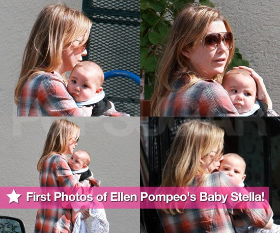 First Photos of Ellen Pompeo's Daughter Stella