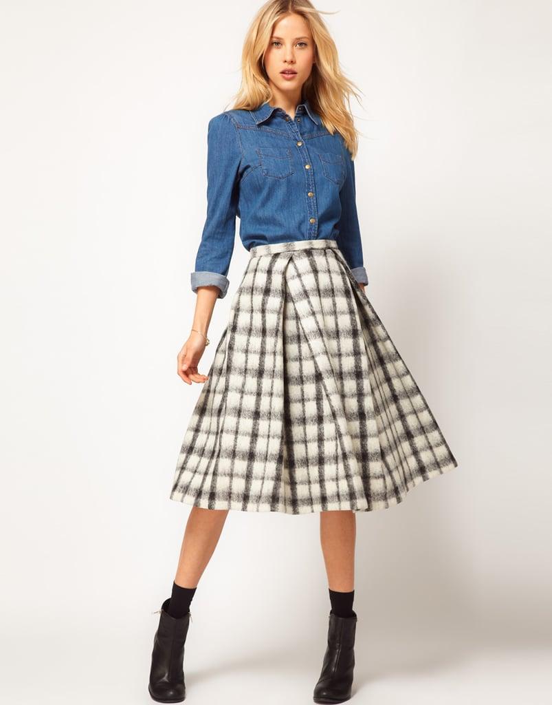 A Warm Midi Skirt