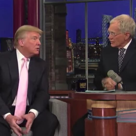 David Letterman Trashes Donald Trump on The Tonight Show