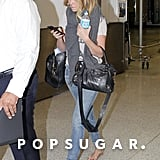 Lauren Conrad touched down in Miami.