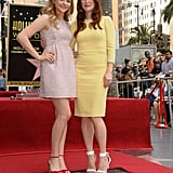 Julianne Moore's Carrie costar, Chloë Moretz, was on hand to help celebrate her star ceremony.