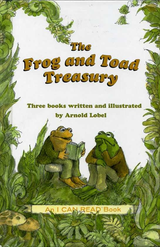 Age 5: The Frog and Toad Treasury