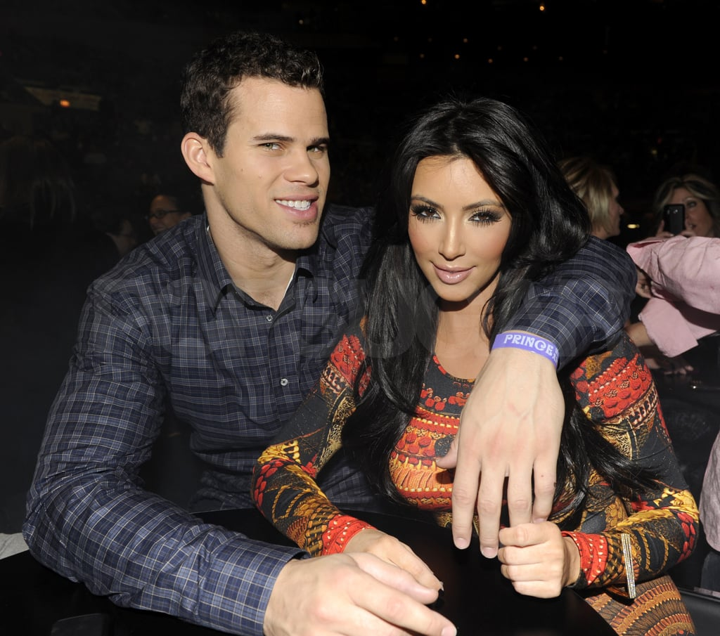 Pictures of Kim Kardashian, Kris Humphries, and Jonathan Cheban at a Prince Concert in NYC