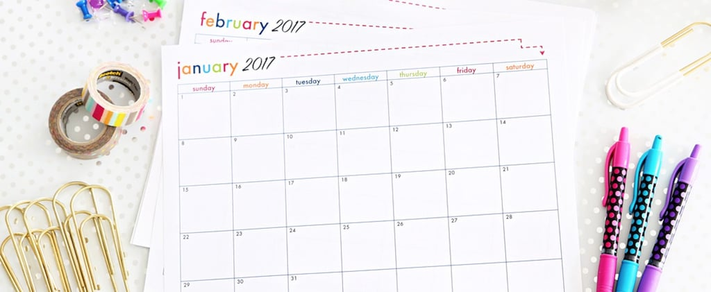 15 (Free!) Printable Calendars For 2017
