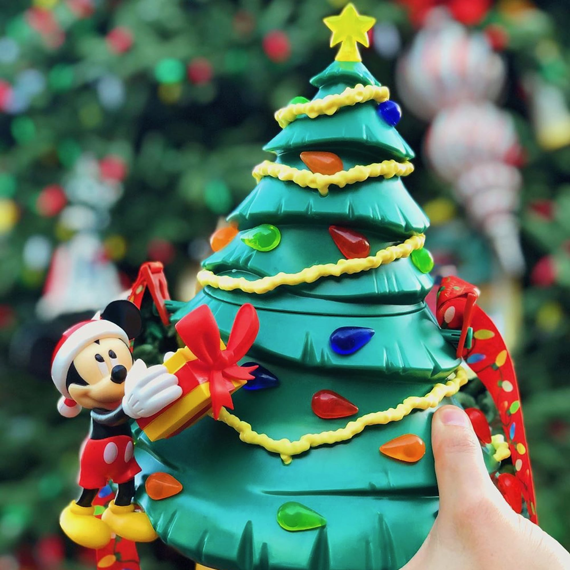 Disneyland Popcorn Bucket Christmas 2020 Disneyland's Christmas Tree Popcorn Buckets Are Going Fast