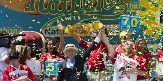 Joey Chestnut Reclaims Top Dog Title In Nathan's Hot Dog Eating Contest
