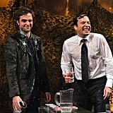Robert Pattinson and Jimmy Fallon played a game on Late Night With Jimmy Fallon.