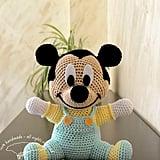 Crocheted Baby Mickey Doll