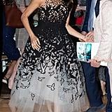 Meghan Markle Wearing Oscar de la Renta