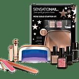Sensationail Rose Gold Starter Kit