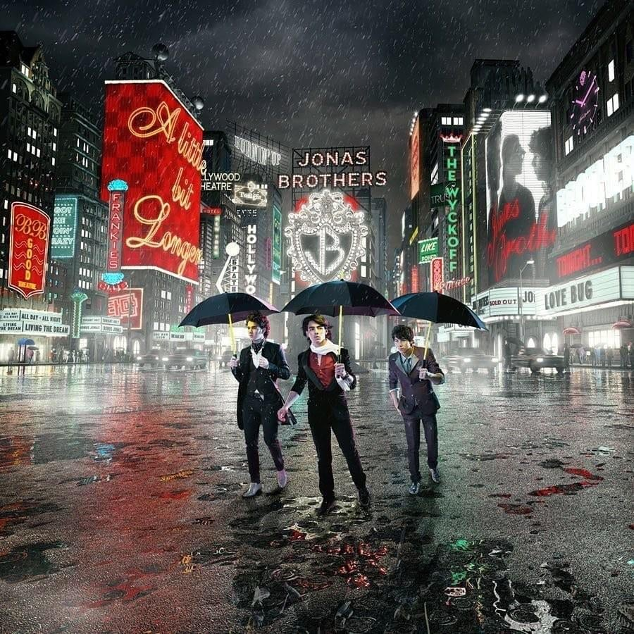 Jonas Brothers A Little Bit Longer Album Cover Costumes