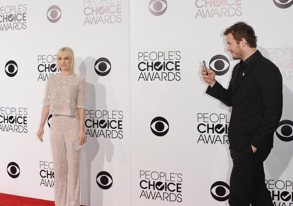 He snapped his own red carpet picture of Anna when they attended the 2014 People's Choice Awards together in LA.