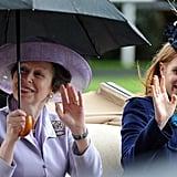 Princess Anne and Princess Beatrice, 2011