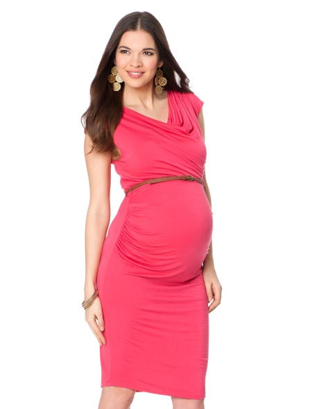 A Pea in the Pod Sleeveless Belted Dress