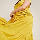 Anthropologie Gillian Tiered Maxi Dress