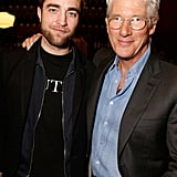 Pictures: Robert Pattinson & Richard Gere At Arbitrage Lunch