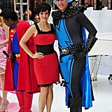 Tina Fey and Will Ferrell wore their Megamind costumes on The Today Show.