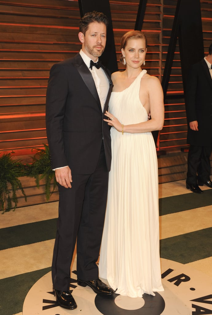Amy Adams and her fiancé, Darren Le Gallo, looked gorgeous.