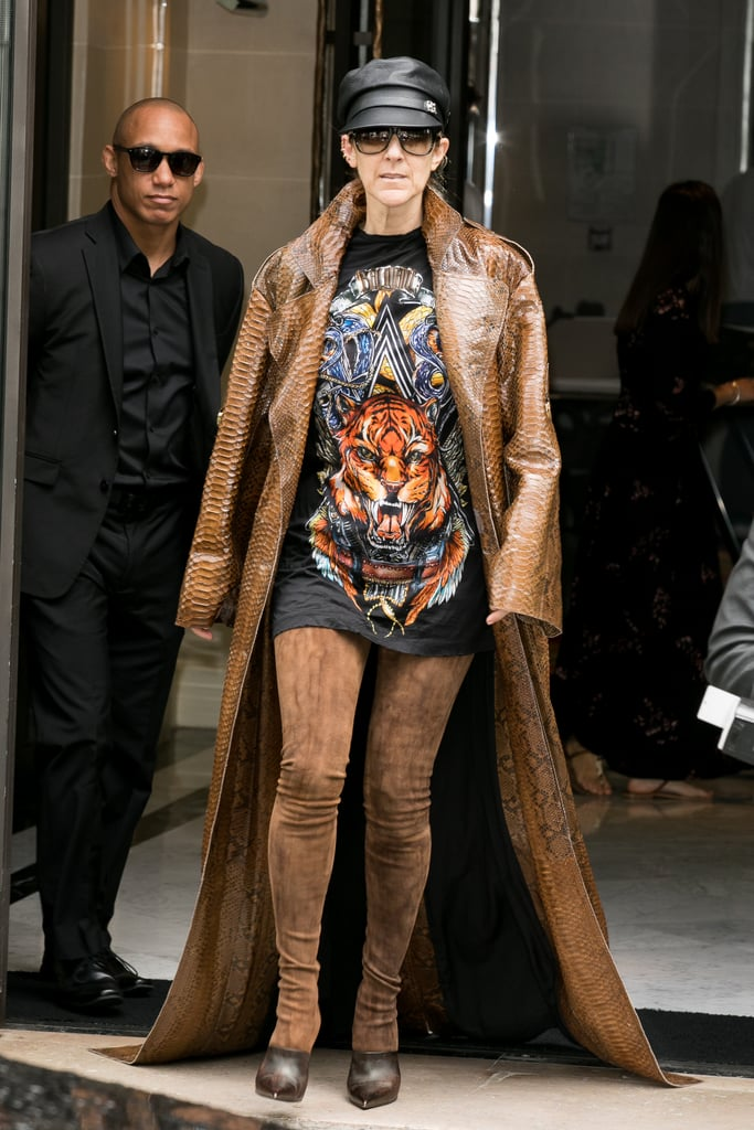 Celine Dion Had a Fashion Revival