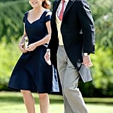 Eugenie and her longtime love Jack Brooksbank attended Pippa Middleton's wedding in 2017.