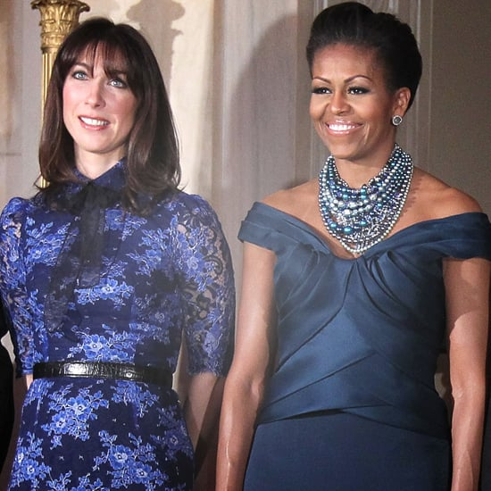 Michelle Obama British State Dinner Pictures