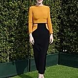 Michelle Dockery at LoveGold's Golden Globes Luncheon