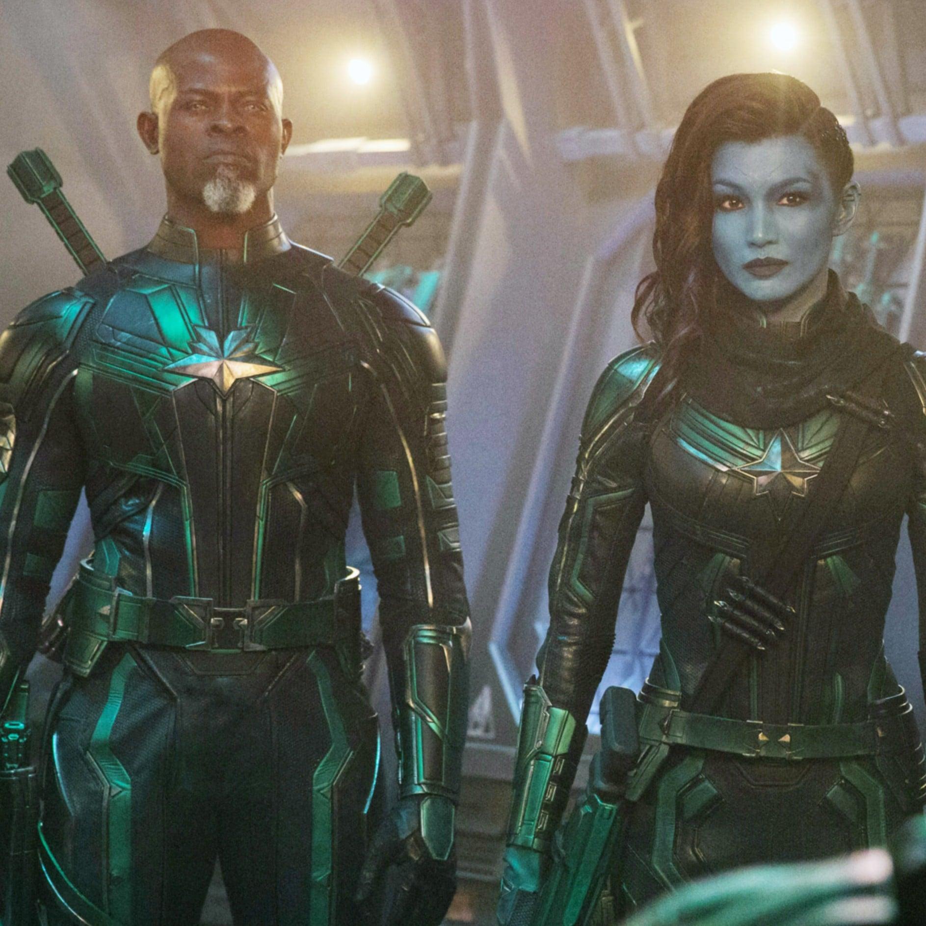 captain marvel cast | popsugar entertainment