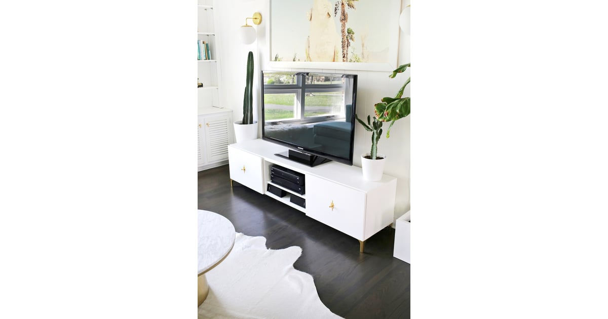 Modern Tv Stand Ikea Besta Hacks Popsugar Home Photo 4