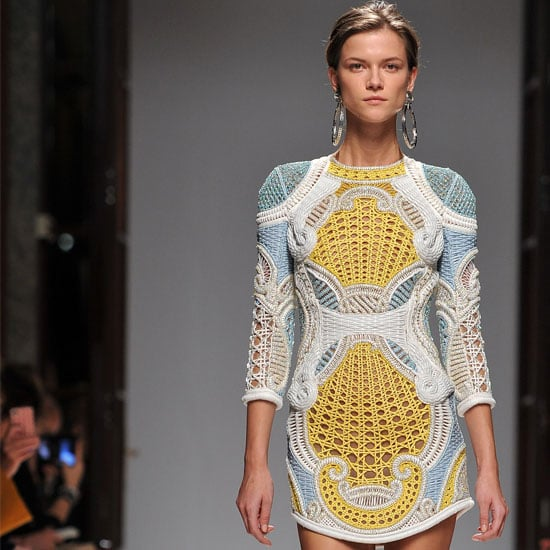 Pictures and Review of Balmain Spring Summer Paris Fashion Week Runway Show