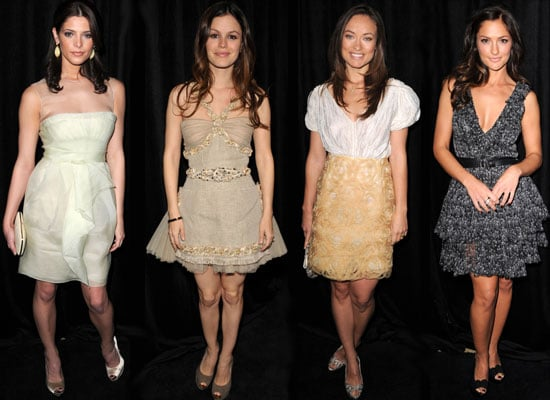 Photos of Ashley Greene, Rachel Bilson and Others at Diamond Fashion Show Preview