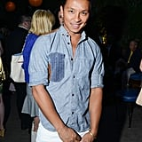 Prabal Gurung got in on the Young New York festivities in a relaxed button-down.