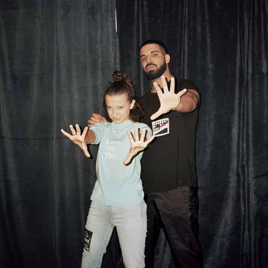 Drake and Millie Bobby Brown Instagram Photo November 2017