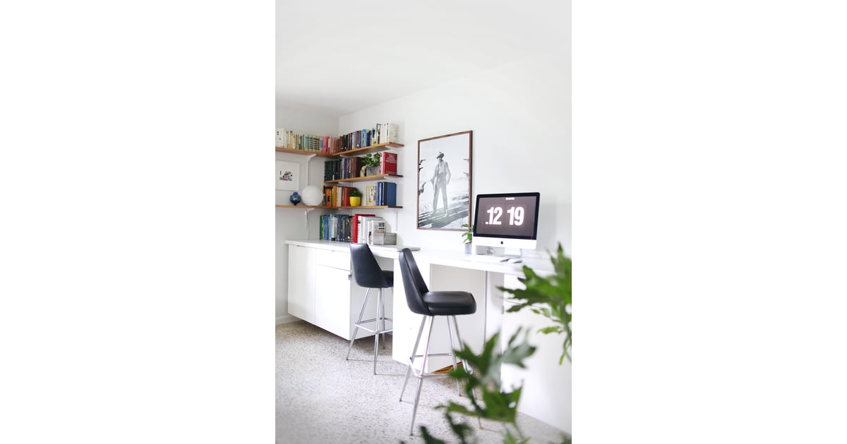Custom built in desks ikea desk hacks popsugar home photo 1 - Customiser armoire ikea ...
