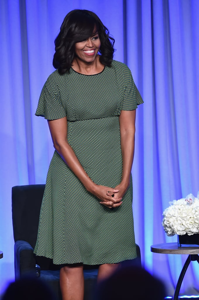 Michelle Obama's Latest Is a Lesson in Finding Your Power Color