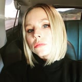 Kristen Bell s Sleek and Short Bob Haircut Makes Me Want to Call My Salon Right Away