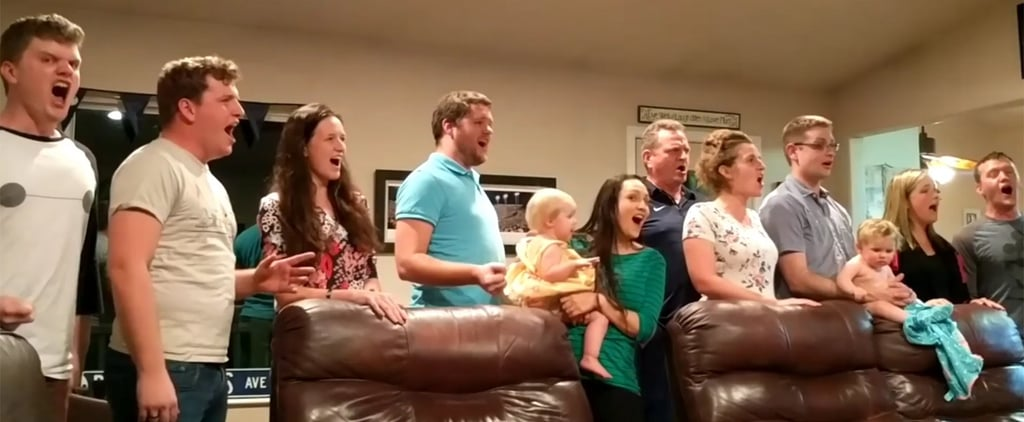 "Video of Family Singing ""One Day More"" From Les Miserables"