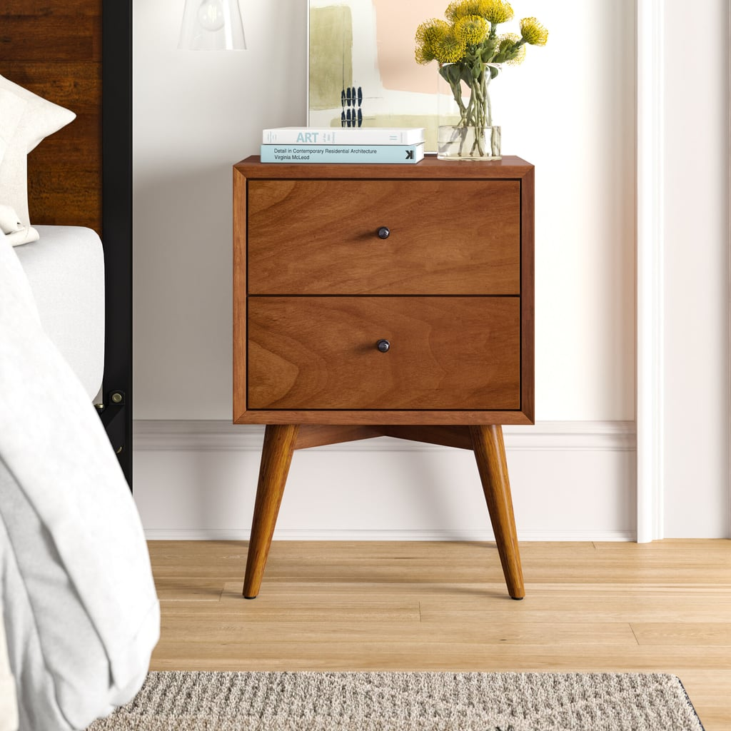 Parocela 2 Drawer Nightstand Best Bedroom Furniture From Wayfair Popsugar Home Australia Photo 6