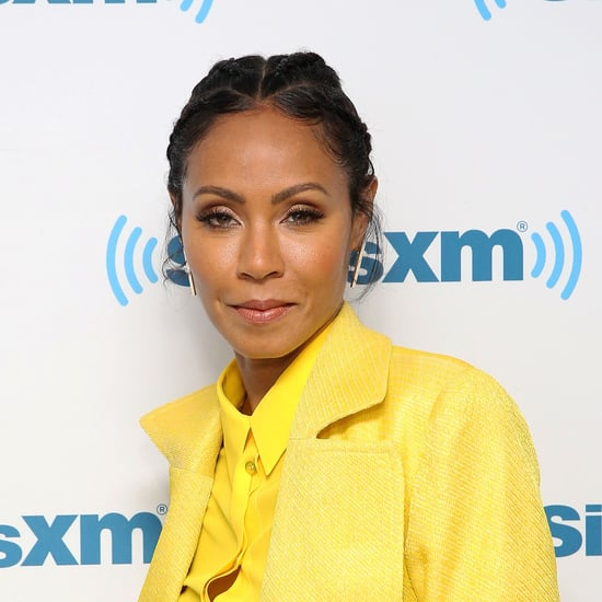 Jada Pinkett Smith Asymmetrical Haircut January 2018