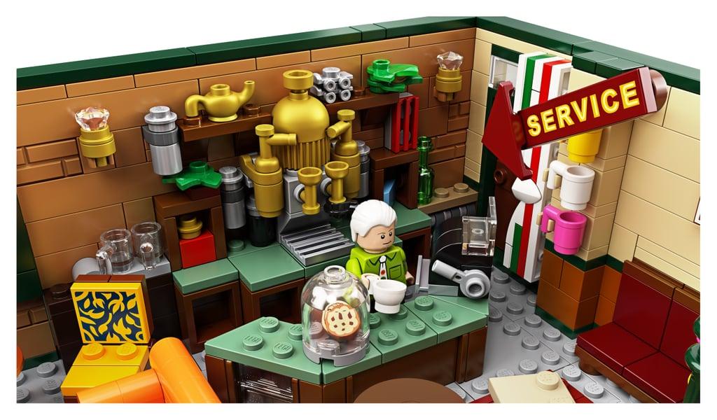 Friends Central Perk Lego Set Details
