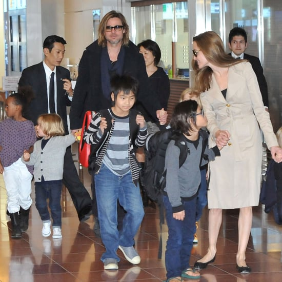 Jolie-Pitt Family Pictures in Tokyo