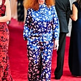 She Channeled Last Year's Met Gala Theme in a Pair of PJs