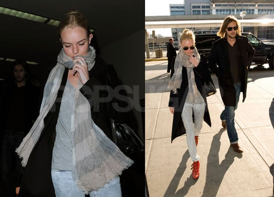 Kate Bosworth At JFK and LAX
